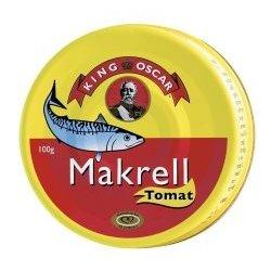 King Oscar Makrell i Tomat
