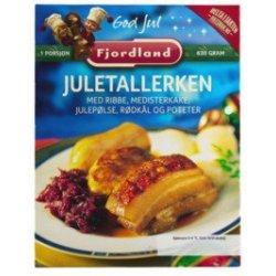 Juletallerken Fjordland