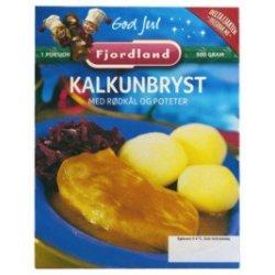 Kalkunbryst m/Rødkål&Poteter Fjordland
