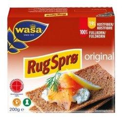 Rug Sprø Knekkebrød Wasa