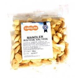 Mandler Ristede Saltede Lunsj UTSOLGT