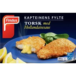 Kapteinens Fylte Torsk M/hollandaise Findus
