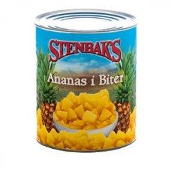 Ananas i biter Stenbaks