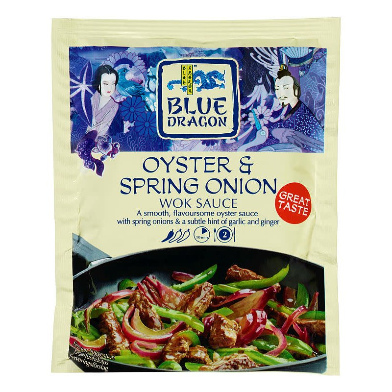 Østers- Vårløksaus Blue Dragon