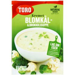 Kremet Blomkål&Broccoli Suppe Toro