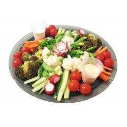 Grønnsaksfat med Dip