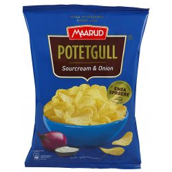 Maarud Potetgull Sour Cream & Onion