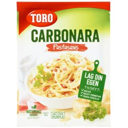 Carbonara Pastasaus Toro