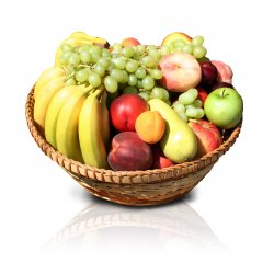 Fruktkurv bare Bananer 9kg