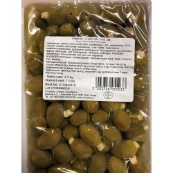 Grønne Oliven m/Fylt Ost