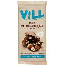 Vill Mørk Melkesjokolade m/Hasselnøtt