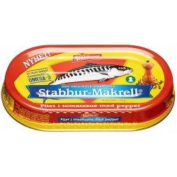 Makrell i tomat Stabburet MED PEPPER