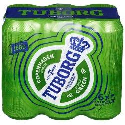 Tuborg Grønn 6 Pakk