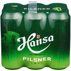 Hansa Pils 6 Pakk