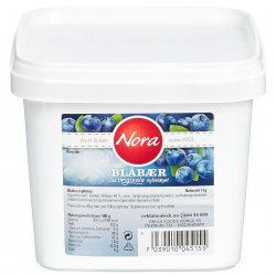 Blåbærsyltetøy Nora