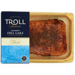 Laks Varmrøkt Bit Dill Troll