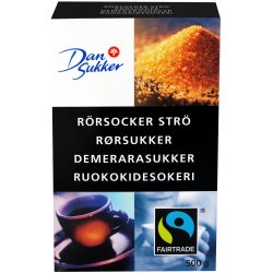 Rørsukker Strø Dan Sukker