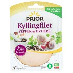 Prior Kyllingfilet Pepper&Hvitløk