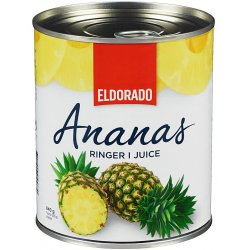 Ananas Ringer i Juice Eldorado