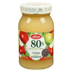 Eple&Pæresyltetøy 80% Uten Sukker Lerum