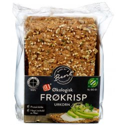 Frøkrips Økologisk Knekkebrød Berit N.