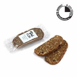 Glutenfri Mørkt Brød m/Gresskar & Linser