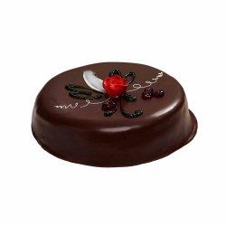 Sjokoladekake m/Glasert Marispanlokk
