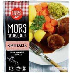 Kjøttkaker m/Ertestuing Fersk&Ferdig