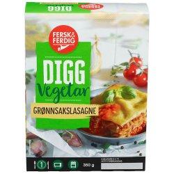 Grønnsakslasagne Vegetar Fersk&Ferdig
