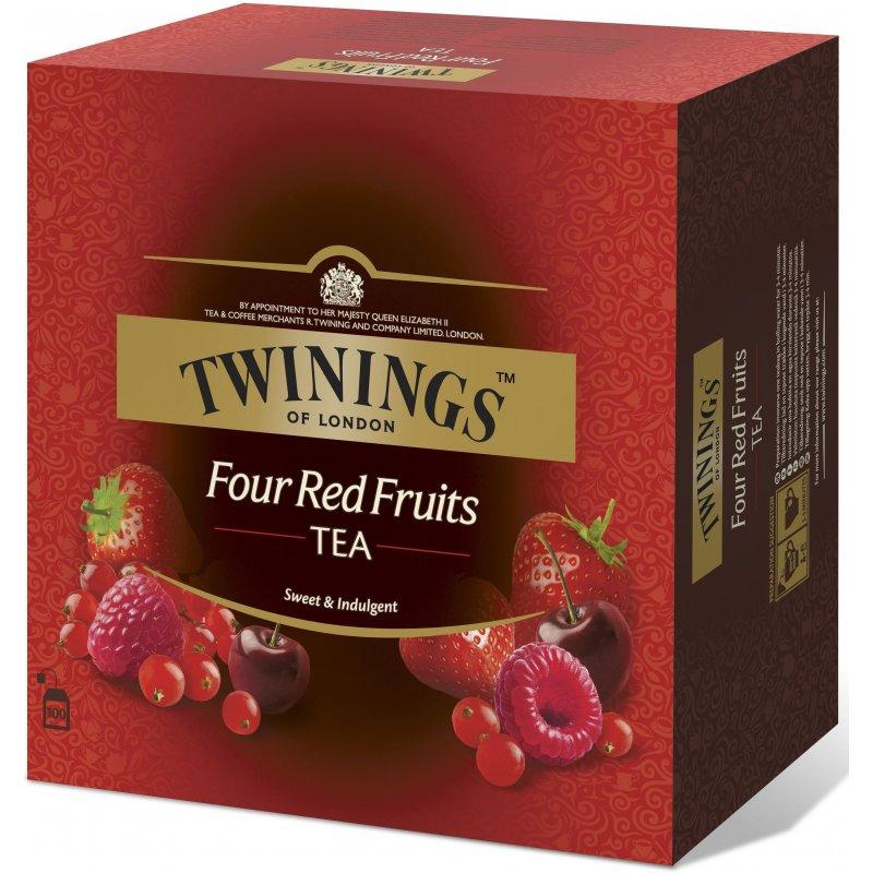 Fire Røde Frukter Twinings
