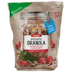 Granola Glutenfri Synnøve Solsikkekjerner&Bringebær