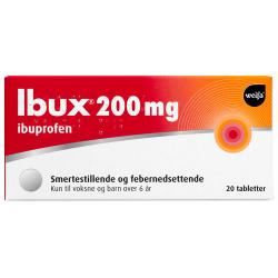 Ibux 200mg (Kun 1 pakke pr. ordre)