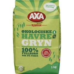 Axa Havregryn Økologisk