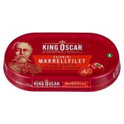 King Oscar Makrellfilet Skinnfri i Tomat