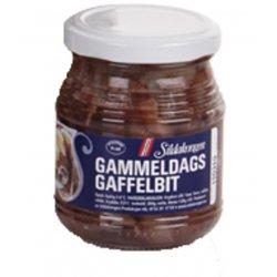 Gammeldags Gaffelbiter m/Cognac Sild