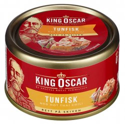 Tunfisk med Thai Chili King Oscar