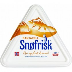 Snøfrisk Kantarell Tine