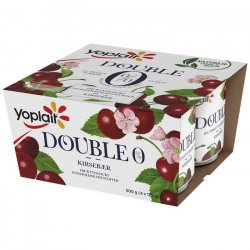 Yoplait Kirsebær Yoghurt Double 0%