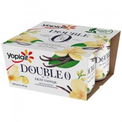 Yoplait Vanilje Yoghurt Double 0%