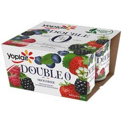 Yoplait Skogsbær Yoghurt Double 0%