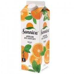 Sunniva Presset Appelsin m/fruktkjøtt