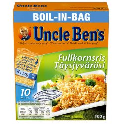 Fullkornris Boil in Bag Uncle Bens