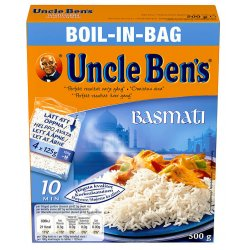 Basmati Boil in Bag Uncle Bens