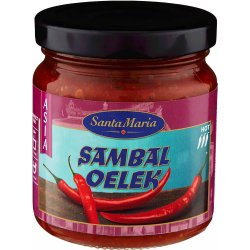 Chili Paste ( Sambal Oelek) St.Maria