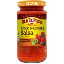 Taco Salsa Medium Old El Paso