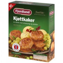 Kjøttkaker med Ertestuing og Poteter