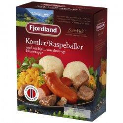 Komler/Raspeballer Fjordland