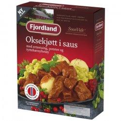 Oksekjøtt I Saus Fjordland