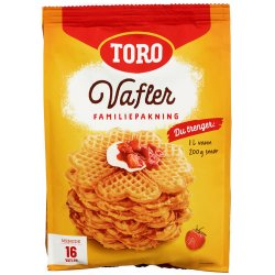 Toro Vaffelrøre ca.16 plater (1,6L røre)