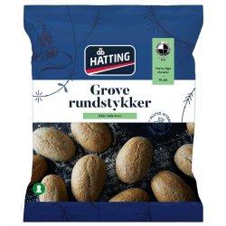 Rundstykker Norske Grove 10stk Hatting